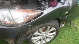 Mazda 3 . Rim and tyres 4