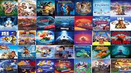 cartoons movies for kids more then 500GB