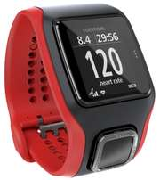 Tomtom Multisport Cardio Cadence Sensor and Altimeter Red And Black