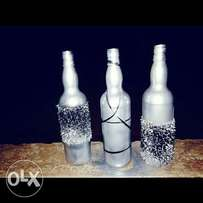 Home and office bottle decor