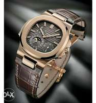 New patek philippe nautilus brown wrist watch