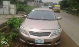 Very clean registered 2008 corolla
