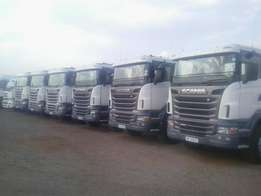 Pre-owned Scania R480 and R500 truck in tremendous condition