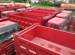 New Howo Dump Trucks 10 tyres ( 30 tons)