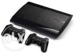 Playstation 3 superslim chipped console with free installed games