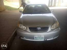 Very neat 2004/2005 Toyota Corolla LE for sale in Abuja