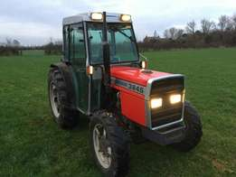 massey ferguson 384 s 135 four wheel drive tractor compact 4wd Topper