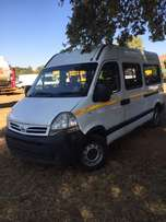 nissan interstar 16 seater bus