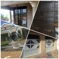 Aluminium garage doors,gates