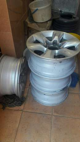 Genuine prado 150 series rims Ridgeways - image 1
