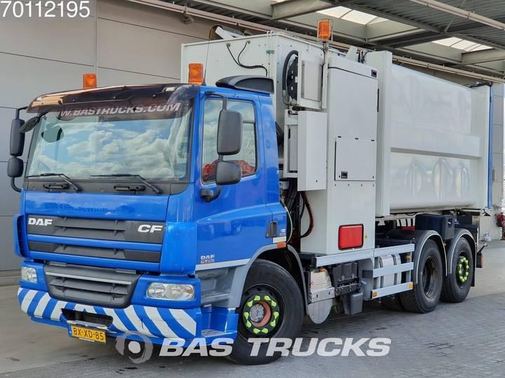DAF CF75.250 6X2 Lenkachse EEV Translift-SeitenLader-Aufbau - 2010
