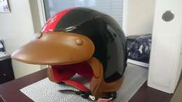 Two Official Ferrari Scooter Helmets