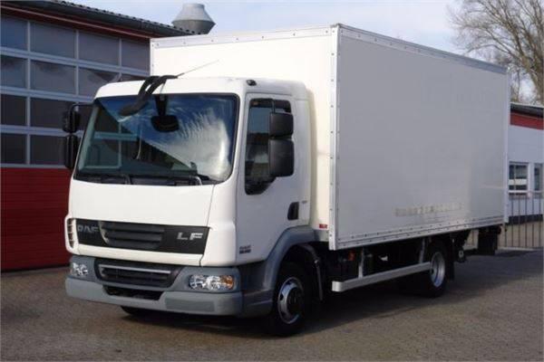 DAF Lf 45.160 Koffer 5,30m Seitentür Lbw Euro5 Tüv! - 2010