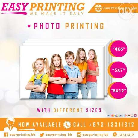 Photos Printing - With Home Delivery Service!