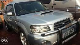Subaru forester Turbo UAV 2003 model
