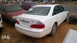 Very Clean Tokunbo Toyota Avalon 03