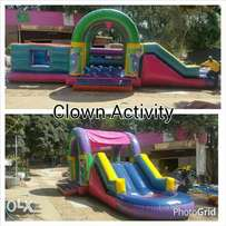 Jumping castles for hire.SMV