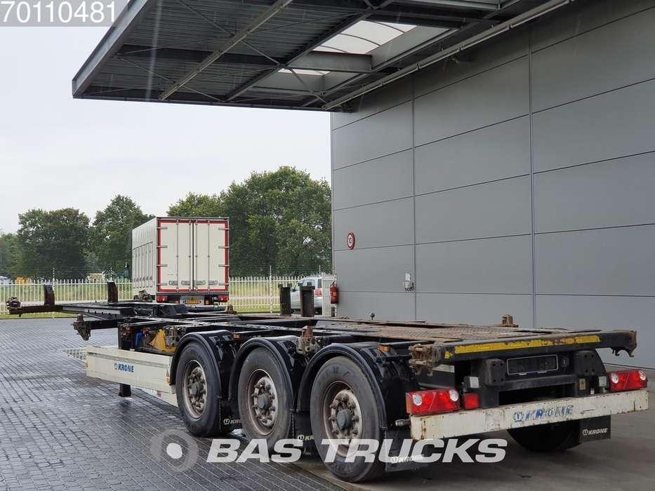 Krone 2x20-1x30-1x40ft. 3 axles Ausziehbar Extending Chassis - 2012 - image 14