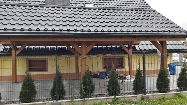 Wiata Drewniana Garaz Altana Drewutnia 3 X 6m żywiec Olxpl