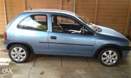 opel corsa to swop for bigger car or bakkie.nippy and lite on fuel