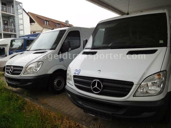 Mercedes-Benz 316 moneytruck,3 Mann panzer FB3 TÜ neu ! - 2013