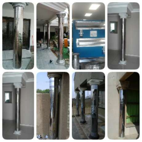 stainless pillar covers and guters installer Ekangala - image 2