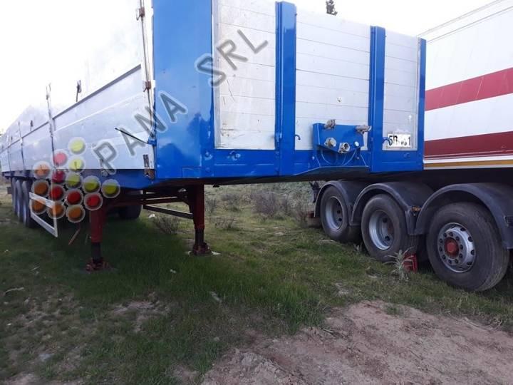 36s15pn 13.6 flatbed semi-trailer - 1996