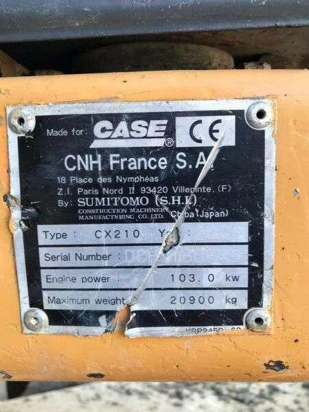 Case CX210 **BJ2003 *14530H** Hammerltg. - 2003 - image 28