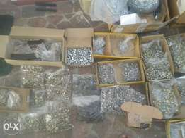 nuts,bolts,rivets, tensil nuts and bolts as well