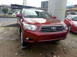 Toyota Highlander limited 09
