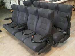 Executive recliner shuttle seat