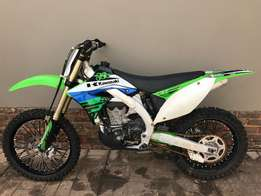 Kawasaki KX450F Fuel injection bikes in excellent condition