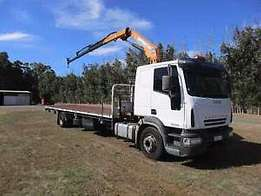 Crane truck hire available country wide