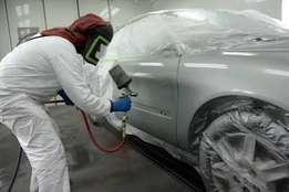 Professional auto spraying services