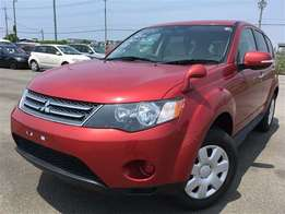 Mitsubishi Outlander, Red