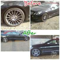 Benz Upgrading,From low profile problems