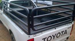 Cattle rails +bull bars 2nd hand to fit hilux for cheap