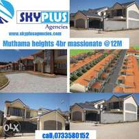 Muthama heights massionate for sale