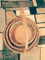 Round baskets and love baskets