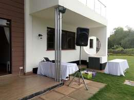 Hire equipment, speaker systems, and sound and free photograhy