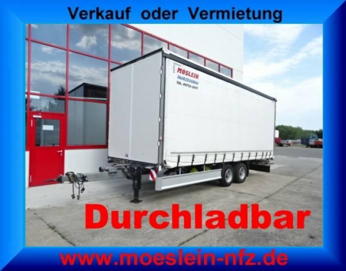 Möslein TP 11-D Schwebheim Tandem- Schiebeplanenanhänger - 2016