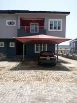 Newly built 4 bedroom semi detached duplex with bq in Chevron for sale