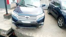 Toyota Highlander 2012 Foreign Used