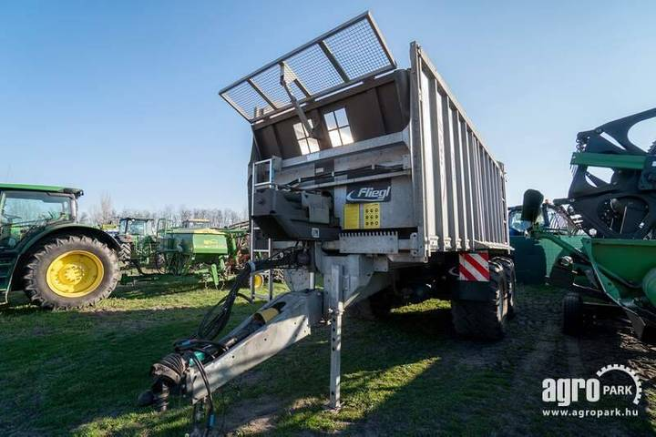 Fliegl Asw 271, Push Off Trailer With Steered Axle - 2015