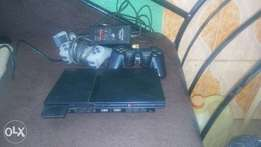 ps2 with 2 pads and memory card and already configure
