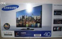 Yours sincerity ÷ `40 inches led TV Samsung ,clear pictures