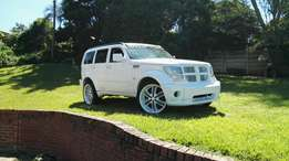 Swap/trade v8 dodge nitro with lexus vvti motor and 22inch mags