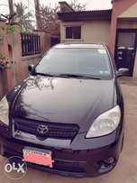 Very clean Toyota matrix 2005 model with custom duty
