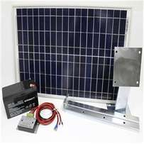 Gate Motor Solar Kit - Solar Panel , Charge Controller and Battery