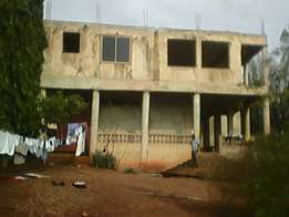 Uncompleted Storey building for sale